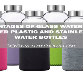 Disadvantages of Glass Water Bottles over Plastic and Stainless Water Bottles