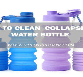 How to Clean Collapsible Water Bottle