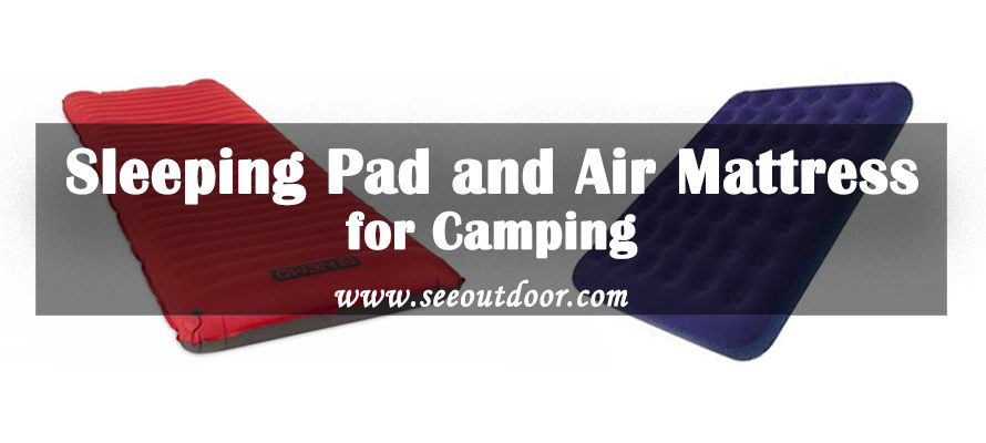 Sleeping Pad and Air Mattress for Camping