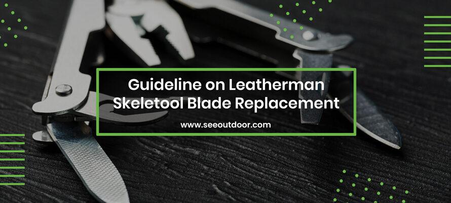 Leatherman Skeletool Blade Replacement