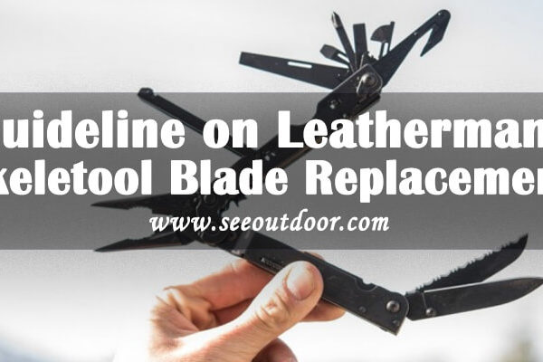 Guideline on Leatherman Skeletool Blade Replacement