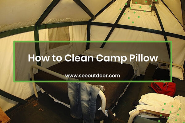 How to Clean Camp Pillow