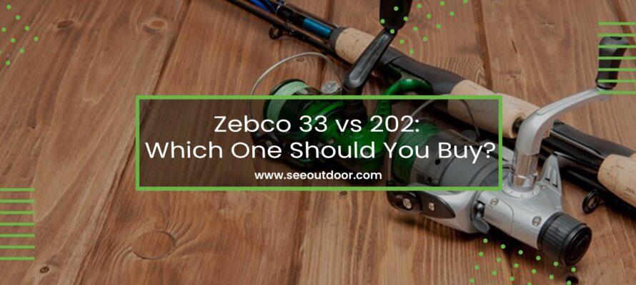 Zebco 33 vs 202